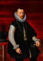 Albert VII (1559-1621), archiduc d'Autriche (Anonyme ,D'après Rubens...) - Muzeo.com