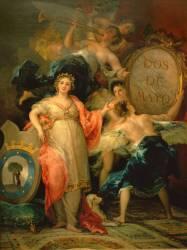 Allégorie de la ville de Madrid (Francisco de Goya) - Muzeo.com