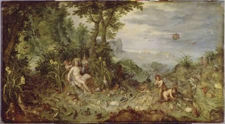 Allégorie de l'Eau (Jan Brueghel l'Ancien) - Muzeo.com