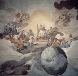 Allégorie des Arts (Pierre de Cortone) - Muzeo.com