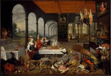 Allégorie du goût (Jan Brueghel l'Ancien) - Muzeo.com