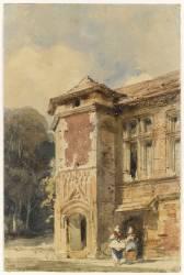 Ancienne maison à Beauvais, rue Sainte Véronique (Richard Parkes Bonington) - Muzeo.com