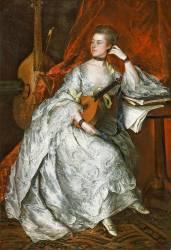 Ann Ford, Future Madame Philip Thicknesse (Thomas Gainsborough) - Muzeo.com
