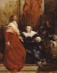Anne d'Autriche et Mazarin (Richard Parkes Bonington) - Muzeo.com