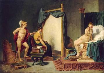 Apelle et Campaspe (David Jacques Louis) - Muzeo.com