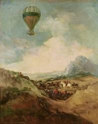 Ascension de la Montgolfière (Francisco De Goya) - Muzeo.com