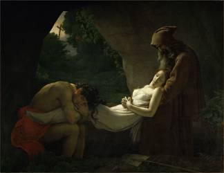 Atala au tombeau dit aussi Funérailles d'Atala (Anne-Louis Girodet) - Muzeo.com