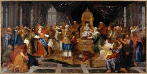 Athalie chassée du Temple (Antoine Coypel) - Muzeo.com