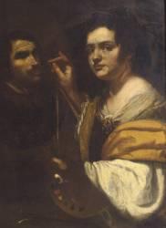 Autoportrait (Artemisia Gentileschi) - Muzeo.com