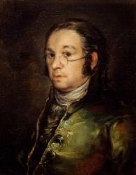 Autoportrait aux lunettes (Francisco de Goya) - Muzeo.com