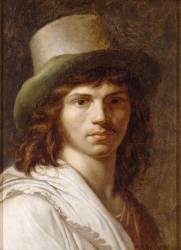 Autoportrait de Girodet (Anne-Louis Girodet) - Muzeo.com