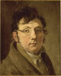 Autoportrait de l'artiste portant des lunettes (1761-1845) (Boilly Louis Léopold) - Muzeo.com