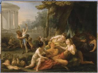 Bacchanale ou Les Dangers de l'Ivresse (1759) (Halle Noël) - Muzeo.com