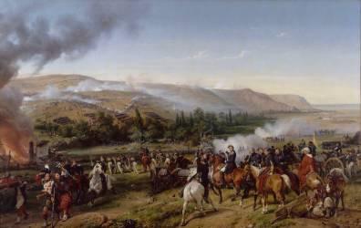 Bataille d'Alma (guerre de Crimée) (Vernet Horace) - Muzeo.com