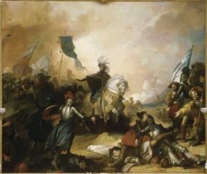 Bataille de Marignan, 14 septembre 1515 (Alexandre-Evariste Fragonard ) - Muzeo.com