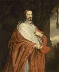 Cardinal Jules Mazarin (1602-1661), vers 1650 (Anonyme) - Muzeo.com