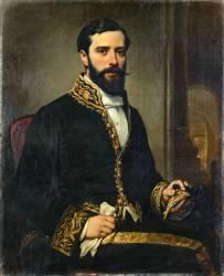 Charles Théodule Dévéria, fils d'Achille Dévéria et conservateur au musée Egyptien du Louvre (Eugène Devéria) - Muzeo.com
