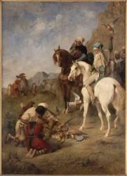 Chasse au faucon en Algérie, la Curée (Fromentin Eugène) - Muzeo.com