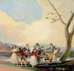 Colin-maillards (Francisco De Goya) - Muzeo.com