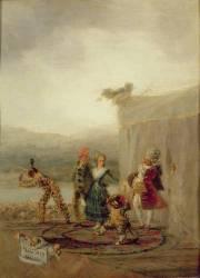 Comédiens ambulants (Francisco De Goya) - Muzeo.com