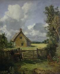Cottage au milieu d'un Champ de Blé (John Constable) - Muzeo.com