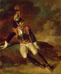 Cuirassier blessé (Théodore Géricault) - Muzeo.com