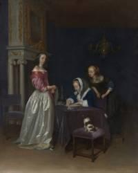 Curiosité (Gérard Ter Borch) - Muzeo.com