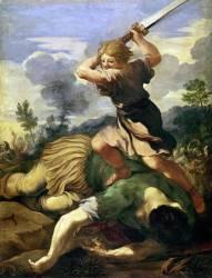 David terrassant Goliath (Pierre de Cortone) - Muzeo.com