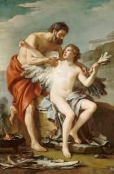 Dédale et Icare (Vien Joseph Marie l'Aîné) - Muzeo.com