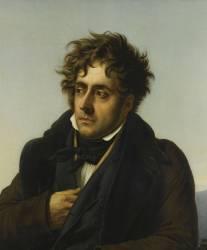 Détail de François-René, vicomte de Chateaubriand (1768-1848) (détail) (Girodet Anne-Louis) - Muzeo.com