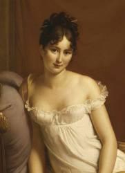 Détail de Juliette Récamier (1777-1849), née Bernard (Gérard François) - Muzeo.com