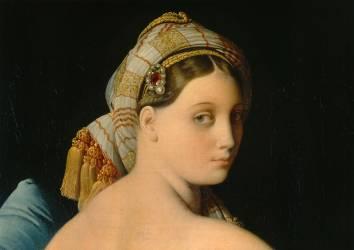 Détail de La Grande Odalisque (Jean-Auguste-Dominique Ingres) - Muzeo.com