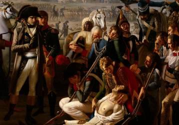 Détail de la Mort du général Desaix à la bataille de Marengo le 14 juin 1800 (Broc Jean) - Muzeo.com