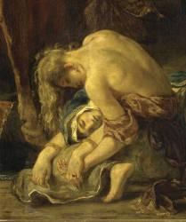 Détail de la Prise de Constantinople par les croisés (12 avril 1204) (Eugène Delacroix) - Muzeo.com