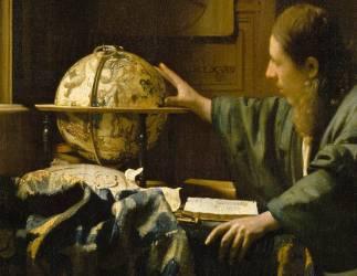 Détail de L'astronome dit aussi l'Astrologue (Johannes Vermeer) - Muzeo.com