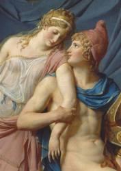 Détail de Les Amours de Pâris et Hélène (Jacques Louis David) - Muzeo.com