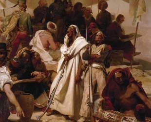 Détail de l'Expédition d'Egypte sous les ordres de Bonaparte (Léon Cogniet) - Muzeo.com
