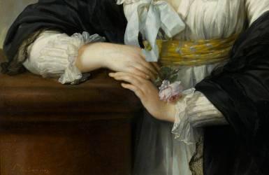 Détail de Yolande-Gabrielle-Martine de Polastron, duchesse de Polignac (1749-1793) (Elisabeth Vigée Le Brun) - Muzeo.com
