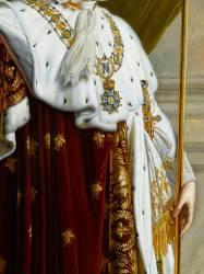 Détail du Portrait de Napoléon Ier en souverain législateur (Anne-Louis Girodet) - Muzeo.com