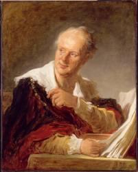 Denis Diderot, écrivain (Jean-Honoré Fragonard) - Muzeo.com