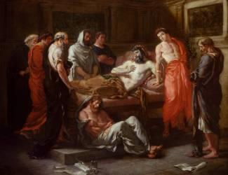 Dernières paroles de Marc-Aurèle (Eugène Delacroix) - Muzeo.com