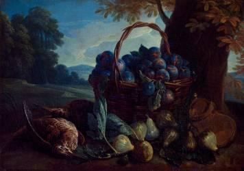 Des prunes, des figues et des bécasses (Alexandre François Desportes) - Muzeo.com