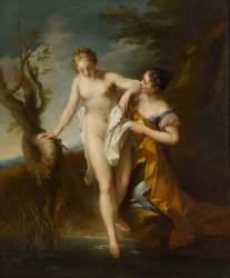 Diane au bain (François Lemoyne) - Muzeo.com