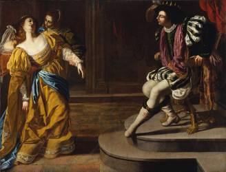 Esther devant Assuérus (Artemisia Gentileschi) - Muzeo.com