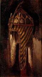 Etude de casque circassien (Delacroix Eugène) - Muzeo.com