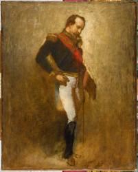 Etude pour l'empereur Napoléon III (Thomas Couture) - Muzeo.com