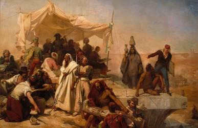 Expédition d'Egypte sous les ordres de Bonaparte (Cogniet Léon) - Muzeo.com