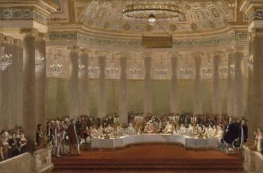 Festin du mariage de Napoléon Ier et de Marie-Louise, 2 avril 1810 (Alexandre Benoît Jean Dufay) - Muzeo.com