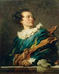 Figure de fantaisie : portrait de l'abbé de Saint-Non (1727-1791) (Jean-Honoré Fragonard) - Muzeo.com