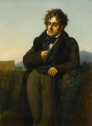 François-René, vicomte de Chateaubriand (1768-1848) (Girodet Anne-Louis) - Muzeo.com